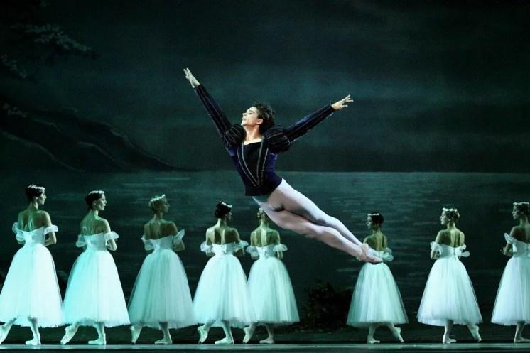 István Simon in Giselle at Moskow Kremlin Theatre