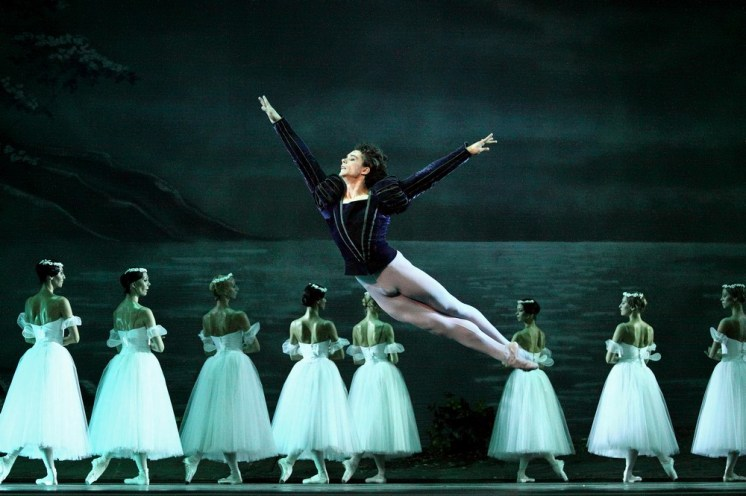 István Simon in Giselle at Moskow Kremlin Theatre