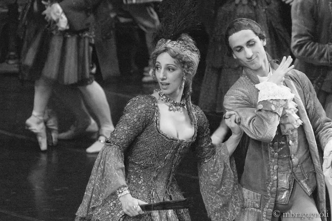 Monica Vaglietti as Madame X in Manon