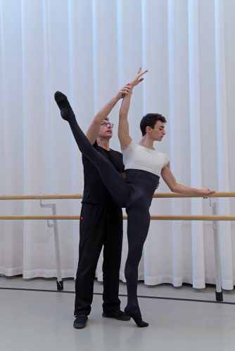 Classical training with Oliver Matz director of Tanz Akademie Zürich 2