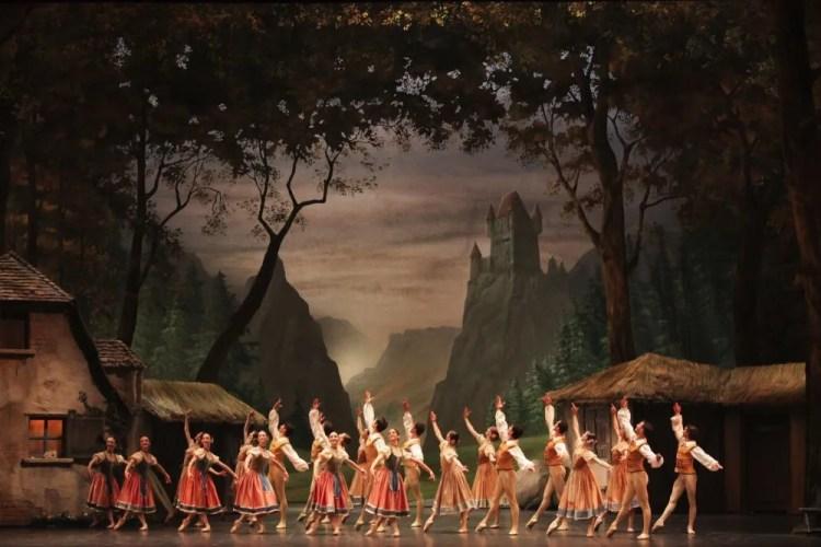 La Scala's Giselle, photo by Brescia e Amisano, Teatro alla Scala