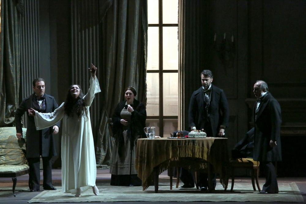La traviata with Anna Netrebko, Francesco Meli and Leo Nucci © Teatro alla Scala, Amisano e Brescia, 2017 05