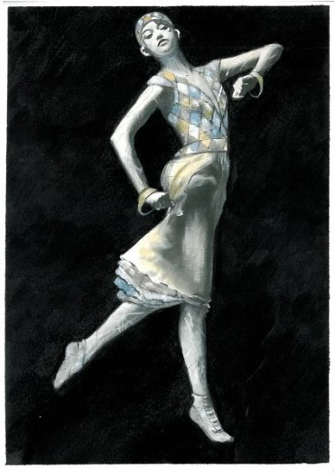 La Valse costume design by Irene Monti