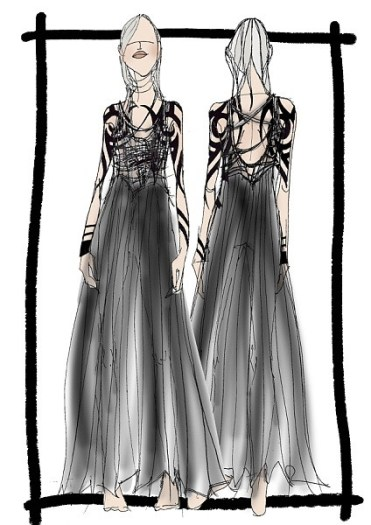 Scheherazade costume design by Kristopher Millar and Lois Swandale