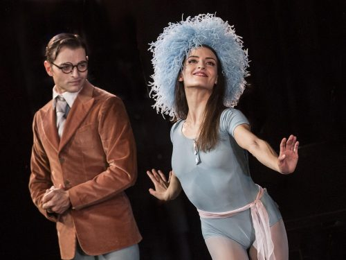 Susanna Salvi and Manuel Paruccini in The Concert by Jerome Robbins, photo by Yasuko Kageyama, Teatro dell'Opera, Rome
