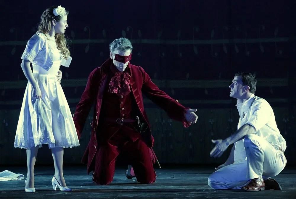 Don Giovanni Semenzato, Hampson and Olivieri, photo by Brescia Amisano – Teatro alla Scala
