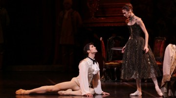 Manon with Svetlana Zakharova and Roberto Bolle, photo by Brescia e Amisano, Teatro alla Scala