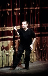 Maurice Béjart at La Scala in 1995, photo by Lelli Masotti, Teatro alla Scala
