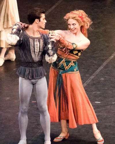 In MacMillan's Romeo and Juliet with Claudio Coviello