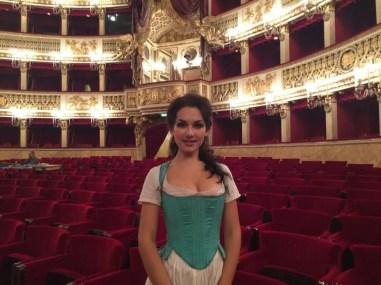 Susanna in Le nozze di Figaro at Teatro San Carlo in Naples