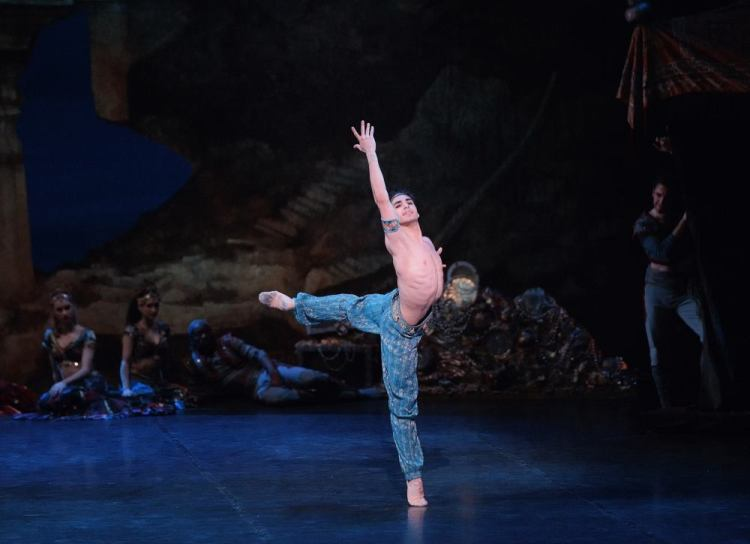 Cesar Corrales as Ali in Le Corsaire 2