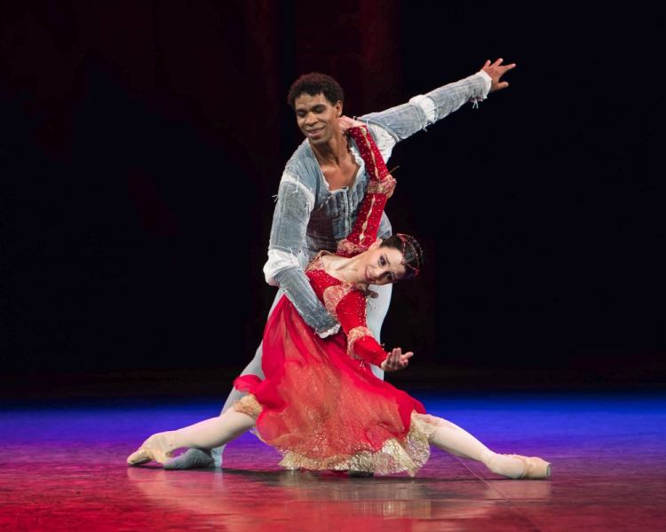 English National Ballet in Romeo and Juliet, photo by ASH, Arnaud Stephenson 2014