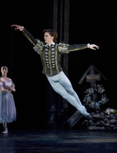 Giselle Joseph Caley as Albrecht, photo by Bill Cooper, BRB