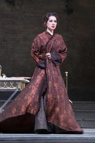 Maria Mudryak as Violetta in Ferzan Ozpetek's productions for San Carlo di Napoli, photo by Luciano Romano 3