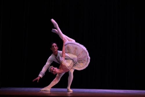 The Sleeping Beauty with Sadaise Arencibia and Raúl Abreu, photo by Nancy Reyes