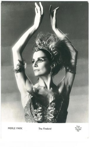 Merle Park in The Firebird   photo by Roy Round