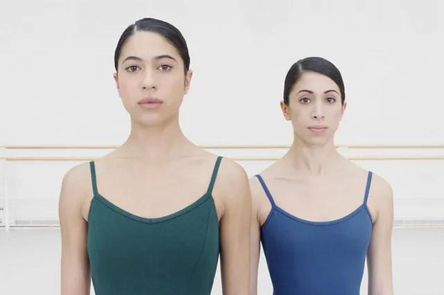 A femalepas de deuxfrom Royal Ballet dancers Beatriz Stix Brunell and Yasmine Naghdi