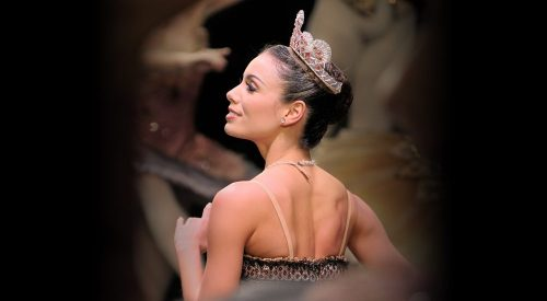 Fernanda Oliveira in English National Ballet's The Sleeping Beauty © Laurent Liotardo