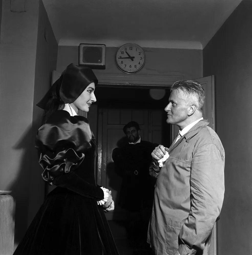 Maria Callas at La Scala, Anna Bolena with Gianandrea Gavazzeni 1957