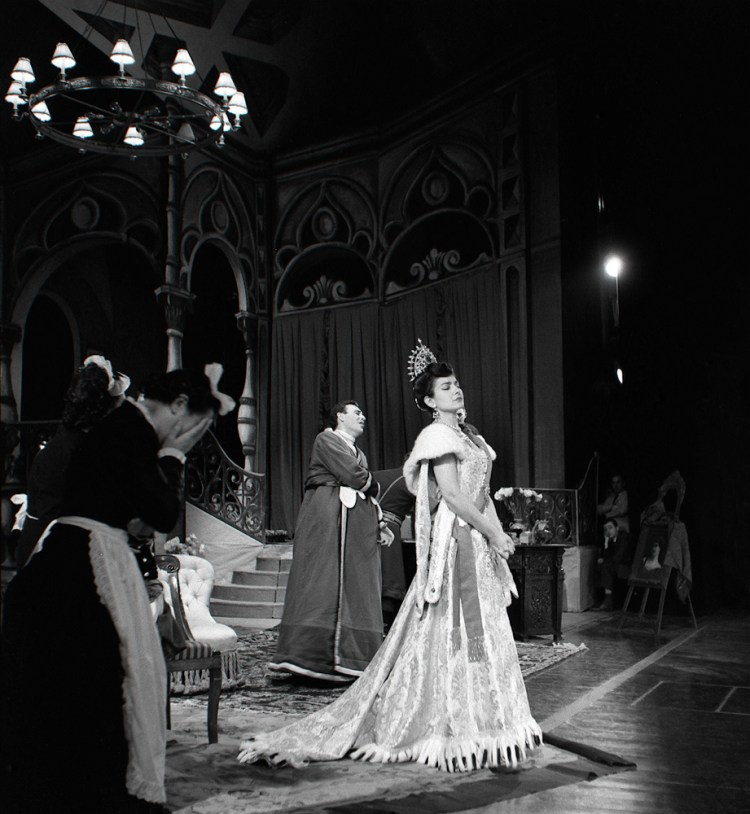 Maria Callas at La Scala, Fedora 1956