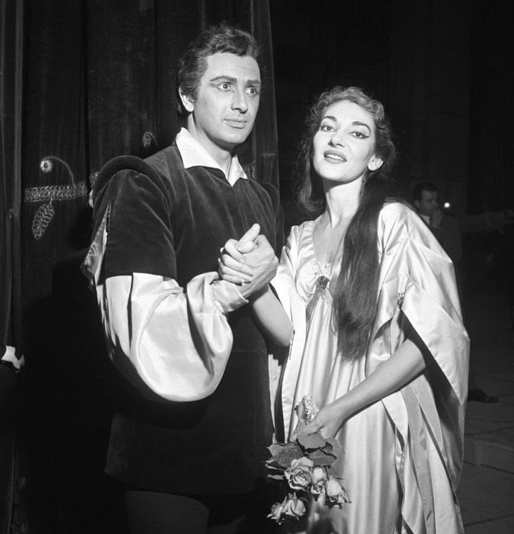 Maria Callas at La Scala, Il pirata with Franco Corelli 1958