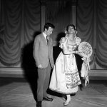 Maria Callas at La Scala, Il turco in Italia with Franco Zeffirelli 1955