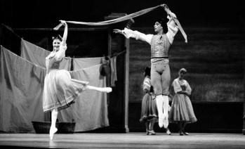 La fille mal gardée, 1987, Carla Fracci, costumes by Luisa Spinatelli