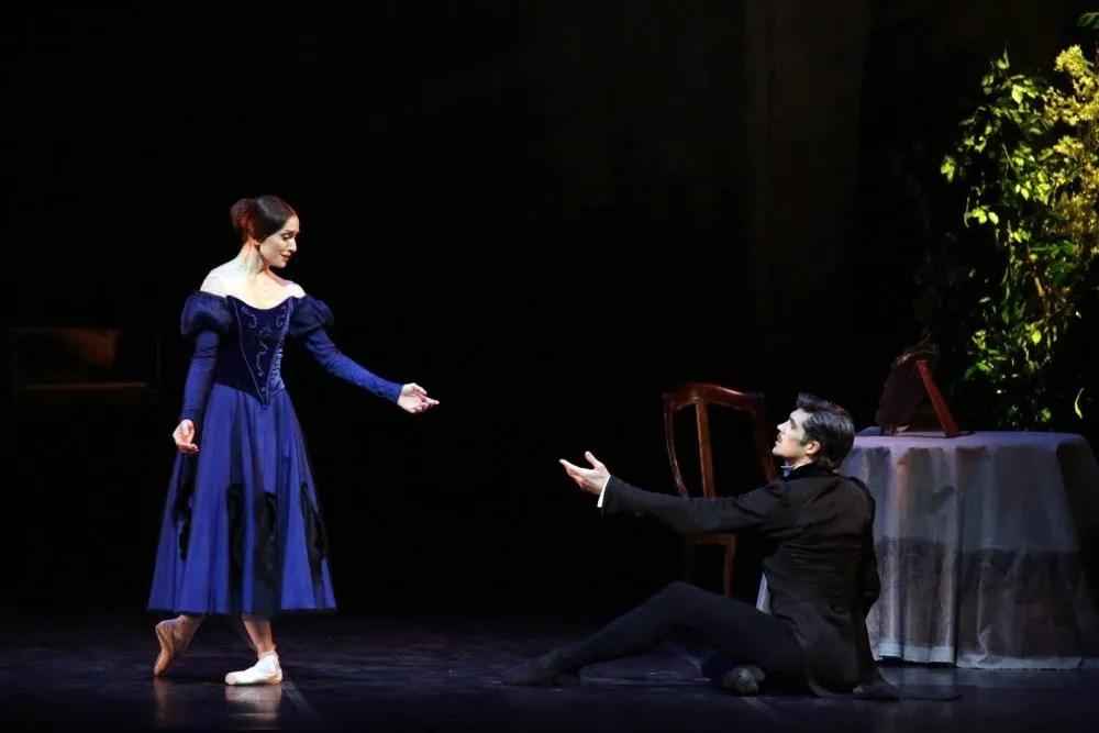Marianela Núñez with Roberto Bolle in Onegin, photo by Brescia e Armisano, Teatro aalla Scala 2017 02