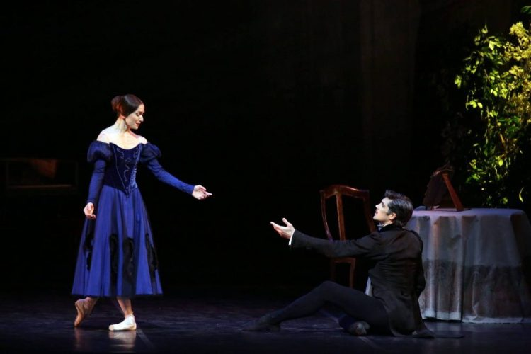 Marianela Núñez with Roberto Bolle in Onegin, photo by Brescia e Armisano, Teatro aalla Scala 2017 02