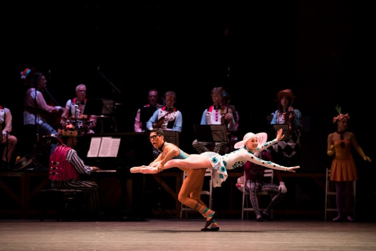 Tzu Chao Chou and Yvette Knight in Elite Syncopation, Andy Ross