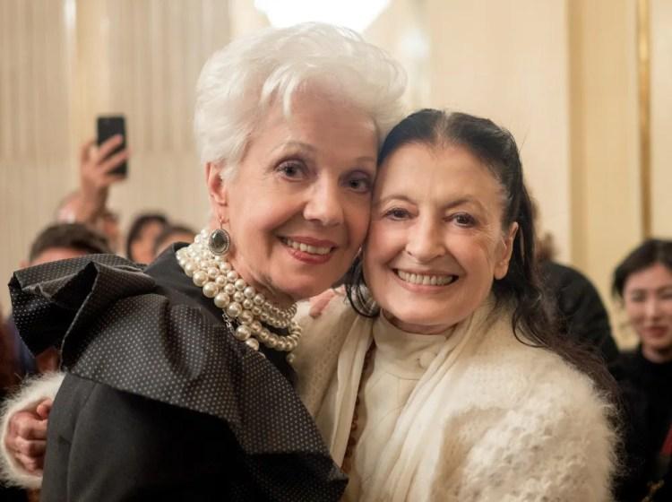 Raina Kabaivanska and Carla Fracci
