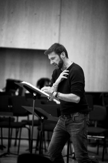 Rehearsing Les Troyens, Nicolas Courjal, © Grégory Massat