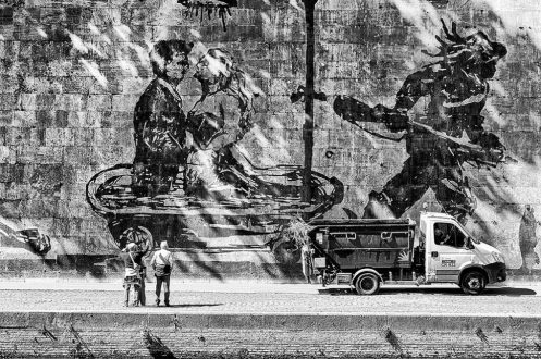 William Kentridge's Triumphs and Laments in Rome, © Sandro Lombardo 4