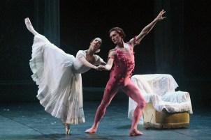 LE SPECTRE DE LA ROSE, Performed by Francesca Hayward & Ivan Putrov by Angela Kase 01