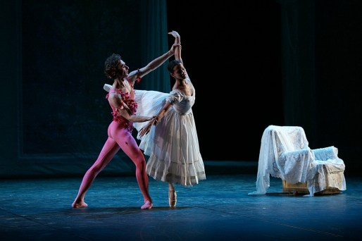 LE SPECTRE DE LA ROSE, Performed by Francesca Hayward & Ivan Putrov by Dasa Wharton