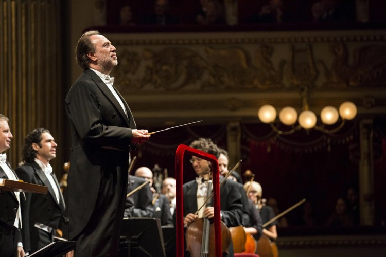 Riccardo Chailly, photo by Brescia e Amisano, Teatro alla Scala