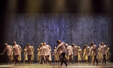 English National Ballet in Akram Khan's Giselle © Laurent Liotardo