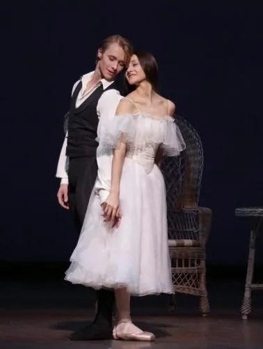 La Dame aux Camélias, with Timofej Andrijashenko and Nicoletta Manni, photo by Brescia e Amisano, Teatro alla Scala 2017