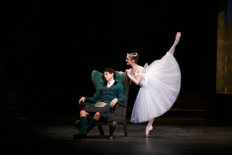 La Sylphide, English National Ballet, photos by Dasa Wharton 01