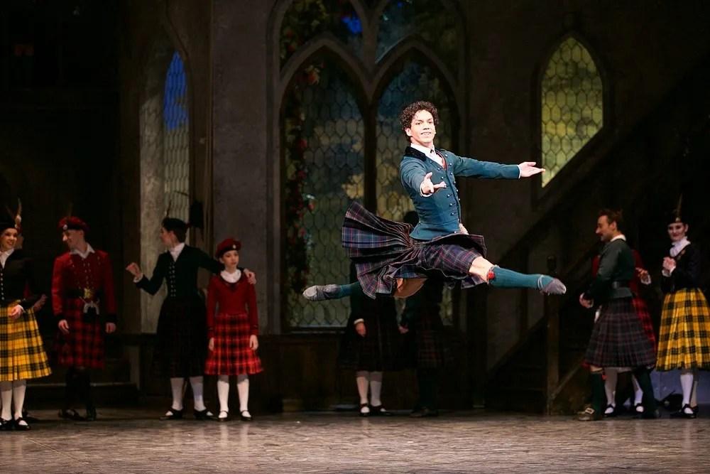 La Sylphide, English National Ballet, photos by Dasa Wharton 07