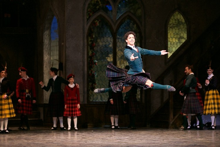 La Sylphide, English National Ballet, photos by Dasa Wharton 07