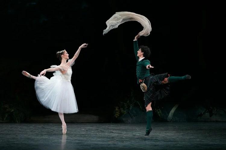 La Sylphide, English National Ballet, photos by Dasa Wharton 19