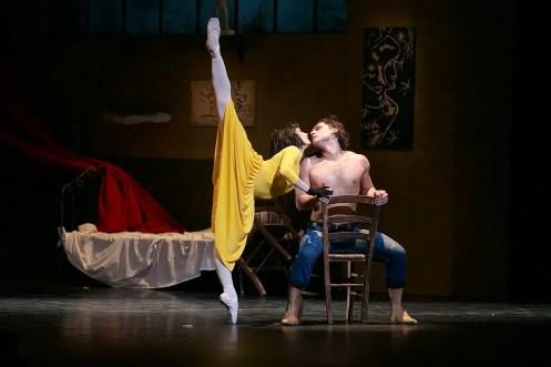 Tamara Rojo and Ivan Vasiliev in Le Jeune Homme et La Mort © Dasa Wharton 19