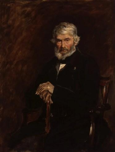 Thomas Carlyle by Sir John Everett Millais, 1st Bt, 1877 © National Portrait Gallery, London