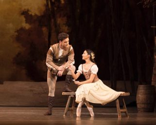 Giselle with Alexander Campbell as Albrecht and Francesca Hayward as Giselle. © ROH, Helen Maybanks 2018