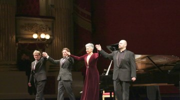 Three for free – La Scala's surprise opera party with Eva Mei, Giorgio Berrugi and Markus Werba