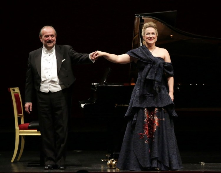 Diana Damrau with Helmut Deutsch, © Teatro alla Scala 2018 01