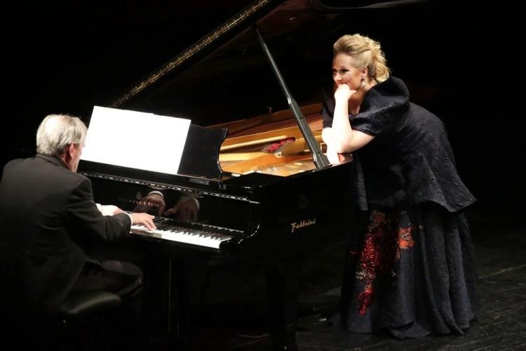 Diana Damrau with Helmut Deutsch, © Teatro alla Scala 2018 02
