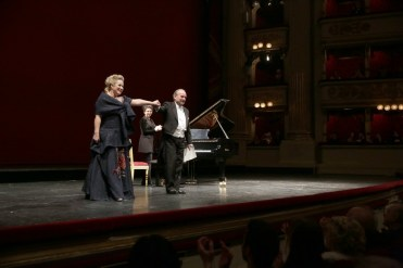 Diana Damrau with Helmut Deutsch, © Teatro alla Scala 2018 04