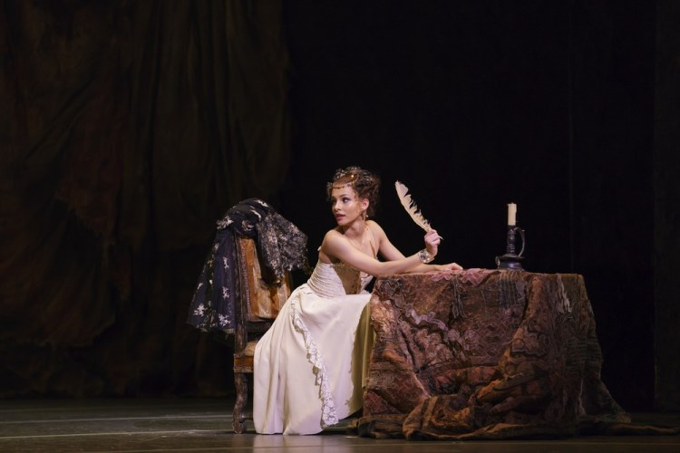 Manon with Francesca Hayward as Manon ©ROH, 2018, photo by Bill Cooper